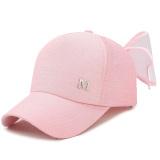 Cuci Gudang Topi Baseball Korea Fashion Style Laki Laki Topi Matahari Luar Rumah Musim Semi Dan Musim Gugur M Cooljie Merah Muda