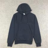 Diskon Produk Kasual Pria Hoodie Jaket Lengan Panjang Biru Tua Baju Atasan Sweter Pria