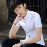 Beli Kasual Remaja Kemeja Warna Solid Kemeja 005 Putih Di Tiongkok