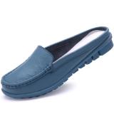 Beli Kasual Ukuran Besar Non Slip Sepatu Wanita Sandal Dan Sandal 288 Biru Murah