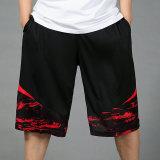 Jual Beli Kasual Untuk Meningkatkan Pria Longgar Celana Basket Celana Pendek Celana Pendek 3005 Hitam Dan Merah Di Tiongkok