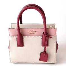 Kate Spade Cameron Street Mini Candace (Cream/Mulled Wine/ Rose Jade)