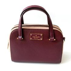 Jual Beli Kate Spade Mini Felix Crossbody Mulled Wine Indonesia