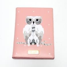 Harga Kate Spade Owl Passport Holder Pink Kate Spade Baru