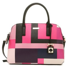 Kate Spade Rachelle Color Block Pink WKRU3434 Authentic Original Store