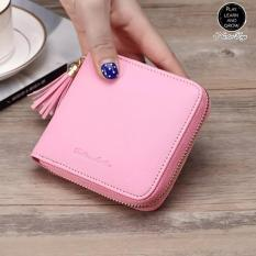 Beli Kawai Filia Dompet Wanita Korea Import Mini Tassel Rumbai Wallet Fashion Cewek Blue