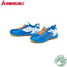 Beli Kawasaki Bulutangkis Sepatu K 052 Biru Cicil
