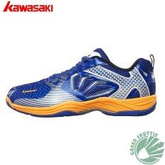 Kawasaki Bulutangkis Sepatu K-066 Biru Bulutangkis Sneaker-Intl