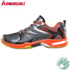 Harga Kawasaki Bulutangkis Sepatu K 613 Merah Kawasaki