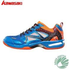 Kawasaki Bulutangkis Sepatu K-616 Biru Bulutangkis Sneaker-Intl