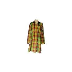 Jual Kayla Long Shirt Tartan Green Maroon Tunik Wanita Kotak Kotak Hijau Ma Branded Original