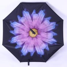 Jual Beli Kazbrella C Brella Upside Down Umbrella Payung Terbalik Payung Ajaib Anemone Purple Di Indonesia