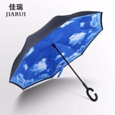 Beli Kazbrella C Brella Upside Down Umbrella Payung Terbalik Payung Ajaib Cloudy Sky Cicil