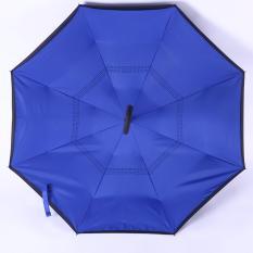 Spesifikasi Kazbrella C Brella Upside Down Umbrella Payung Terbalik Payung Ajaib Deep Blue Sea Online