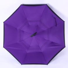 Beli Kazbrella C Brella Upside Down Umbrella Payung Terbalik Payung Ajaib Purple Rain Baru