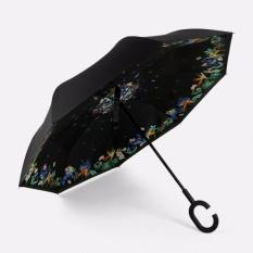 Harga Kazbrella C Brella Upside Down Umbrella Payung Terbalik Payung Ajaib Thousand Fowers Online Jawa Barat