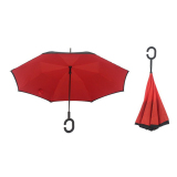 Jual Kazbrella Reverse 2 Layer C Type Holder Umbrella Red Murah Jawa Barat