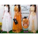 Jual Kebaya Modern Gaun Kebaya Gaun Nikah Gaun Pengantin Gaun Pesta Putih No Brand Online