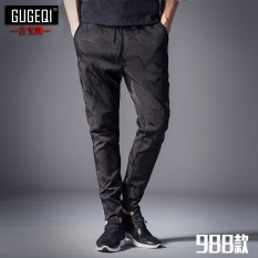 Jual Kebugaran Harem Kaki Pinggang Elastis Musim Panas Celana Panjang Kamuflase Celana K988 Online Di Tiongkok