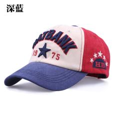 Beli Topi Pelindung Sinar Matahari Korea Fashion Style Perempuan Topi Baseball Luar Rumah Laki Laki Biru Tua Online Tiongkok