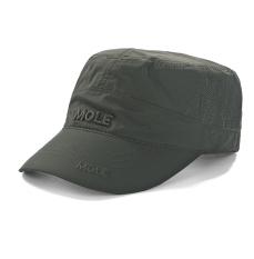 Kebugaran laki-laki kamuflase topi topi (Jaringan Model tentara hijau)