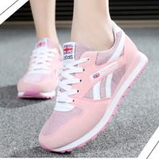Sepatu Casual Wanita Gaya Korea Merah Muda Warna A15 Merah Muda Warna A15 Promo Beli 1 Gratis 1