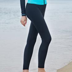 Kebugaran Perempuan Java ME Terlihat Langsing Lengan Panjang Petinju Baju Renang Baju Renang (Celana Panjang)