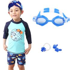 Beli Kecil Anak Laki Laki Anak Laki Laki Berenang Baju Renang Anak Baju Renang 6088 53 Cermin Biru Telinga Hidung 6088 53 Cermin Biru Telinga Hidung Cicilan