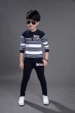 Diskon Anak Laki Laki Kecil Korea Fashion Style Katun Baru Anak Laki Laki Musim Semi Biru Tua Nice Baby Tiongkok