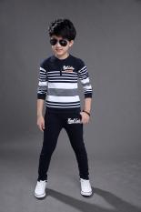 Toko Anak Laki Laki Kecil Korea Fashion Style Katun Baru Anak Laki Laki Musim Semi Biru Tua Nice Baby