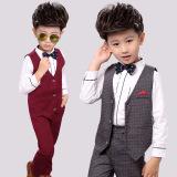 Spesifikasi 12 Korea Fashion Style Anak Laki Laki Gadis Bunga Gaun Abu Abu Tiga Potong Abu Abu Tiga Potong Other