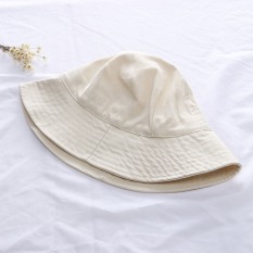 Model baru topi nelayan kecil di sepanjang Lipat Atas Bulat Topi buket Gaya  Jepang Sederhana All 08ed2b1c3c