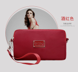 Toko Kecil Segar Berkapasitas Besar Clutch Tas Wanita Bagian Panjang Dompet Anggur Merah Anggur Merah Tas Tas Wanita Dompet Wanita Other Tiongkok