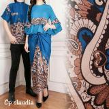Toko Kedai Baju Batik Couple Batik Pasangan Batik Cp Claudia Biru Di Indonesia