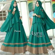 Toko Kedai Baju Gamis Berkualitas Muslim Hijab Murah Ayra Syari Tosca Yang Bisa Kredit