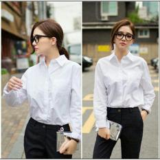 Toko Kedai Baju Kemeja Nerry Lengan Panjang Kemeja Wanita Hem Cewek Tshirt Tunik Wanita T Shirt Cewek Kemeja Kerja Kemeja Bangkok Stylist Nr Putih Termurah Dki Jakarta