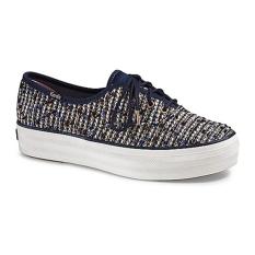 Harga Keds Sepatu Wanita Kdz Wf57454 Triple Metallic Boucle Blue Multi 6 Yang Murah