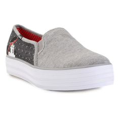 Keds Women Shoes Wf57157 Triple Decker Minnie Polka Dot Pique Grey 5 Diskon Akhir Tahun