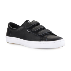 Harga Keds Women Shoes Wh57617 Tiebreak Leather Black 5 Asli