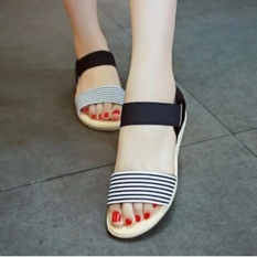 KEKE SHOES-sandal teplek salur mr27