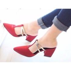 Harga Keke Shoes Sepatu High Heels Wanita Hak Tahu Sdh33