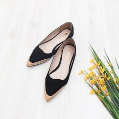 Harga Bebbishoes Angel Flat Shoes Black Seken