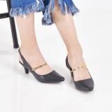 Harga Bebbishoes Camile Heels Black Termurah
