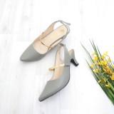 Beli Bebbishoes Camile Heels Grey Murah Dki Jakarta
