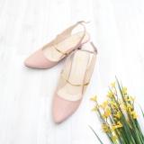 Spesifikasi Bebbishoes Camile Heels Pink Murah