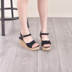 Bebbishoes-Elia Wedges Heels-Black
