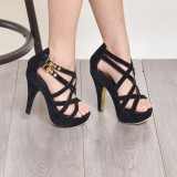 Bebbishoes Ely Heels Black Original