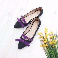 Bebbishoes Raeny Flat Shoes Black Bebbishoes Diskon