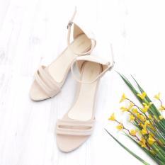 Bebbishoes Roro Heels Cream Jawa Barat Diskon