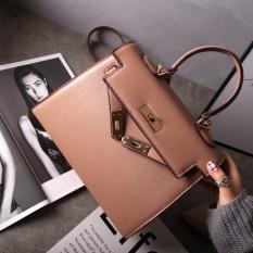 Kelly Eropa Dan Amerika Tas Model Hermes Jinjing Tas Bahu Dengan Satu Tali Messenger Tas Tas Besar (Khaki) Tas Tas Wanita Tas Selempang Wanita Tas Mini Wanita